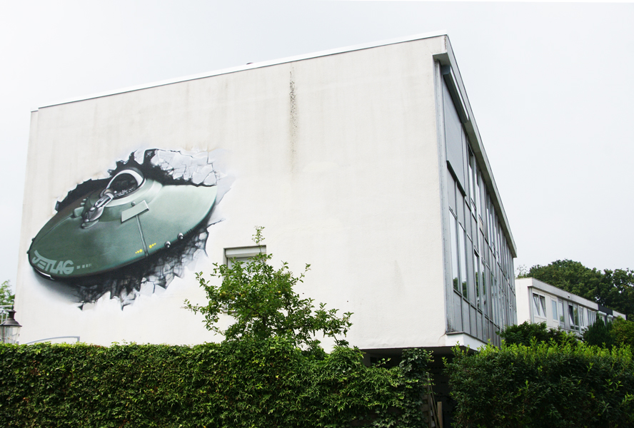 Crashed UFO - 2014