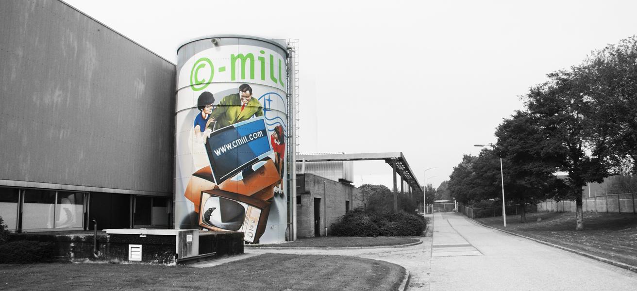 CMill Silo - Panorama Shot